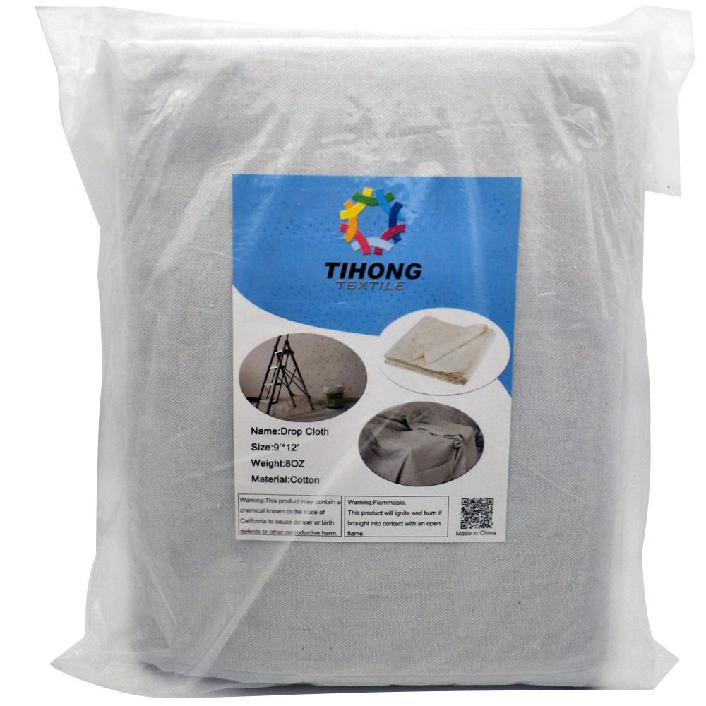 12oz 100 <strong>cotton</strong> canvas painter drop cloth