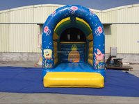 Hot Sale Inflatable Minions Bouncer,Inflatable Jumping Bounce House For Adult