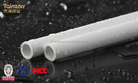 Large diameter pvc plastic pipe and fittings prices good