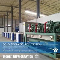 MOON CE commercial refrigeration condensing unit with stable price for sale