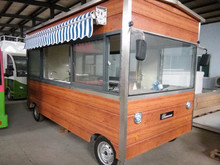 high quality good price snack food cart and mobile food carts dinner car