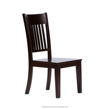 Cheap indian furniture high back solid wood dining room chair