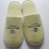 Disposable Terry Cloth Flip Flop Slippers