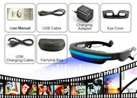 Mobile Theatre Video Glasses - Movies on 52 Inch Virtual Screen - G289 2Gen