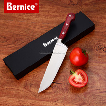 Factory Wholesale Stainless Steel Kitchen Cleaver Knife with Wooden Handle