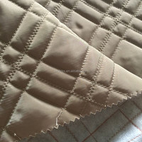 Quilted thermal fabric for winter fashion ladies clothing /coat / jacket