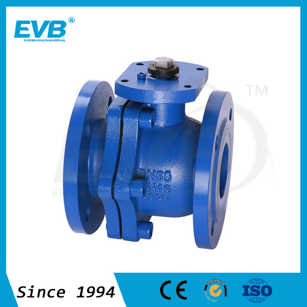 cast iron 2pc ball water valve dn50 supplier