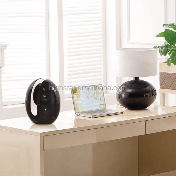 modern design egg shape portable bluetooth speaker high quality battery powered bluetooth speaker for decoration