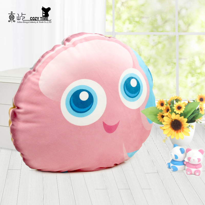 Professional design piles silicone seat cushion