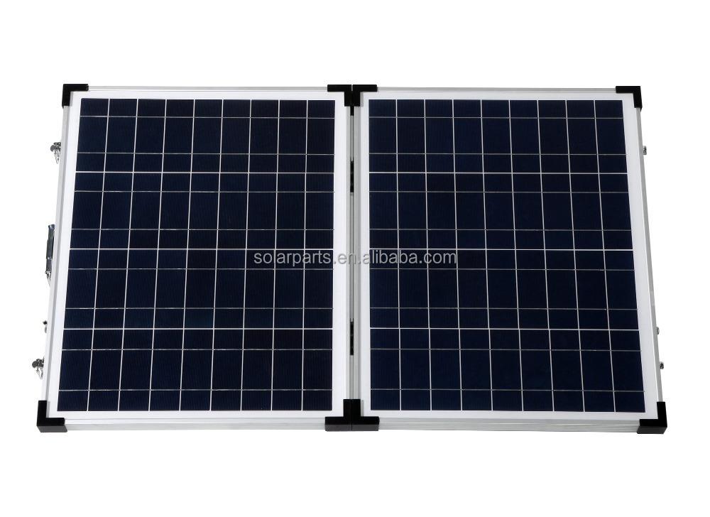 100W Portable Polycrystalline Foldable solar Cell panel pv Solar Panel