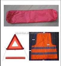 2016 America Cheap Safe Vest+Warning Triangle Car Emergency Kit