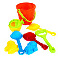 ICTI certificated custom made plastic pretend sand toy
