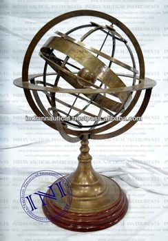 Antique Globes, Nautical Decorative, Office table decoration