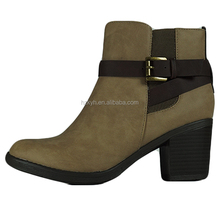 New design women high heel chelsea shoes boots