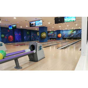 6Lanes Brunswick Bowling Equipment Complete Set New Lanes