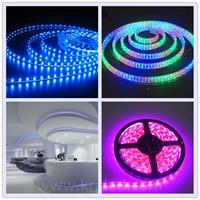 Narrow PCB board SMD 12v red/green/blue color changing led strips hydroponics led strip light