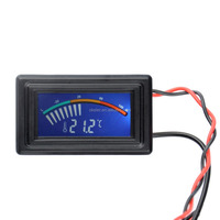 LCD display PC DC5V-25V pointer type Thermometer Temperature Gauge Meter