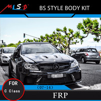 High Quality MLSD Hot Sale BS style body kit for Mercedes-Benz W204 C Class 07-14