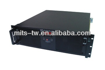 "19"" 2U 2KAW Rack Mount DC to AC Pure Sine Wave Inverter"