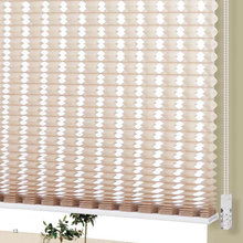 Double Cellular Office Curtains and Honeycomb Blinds