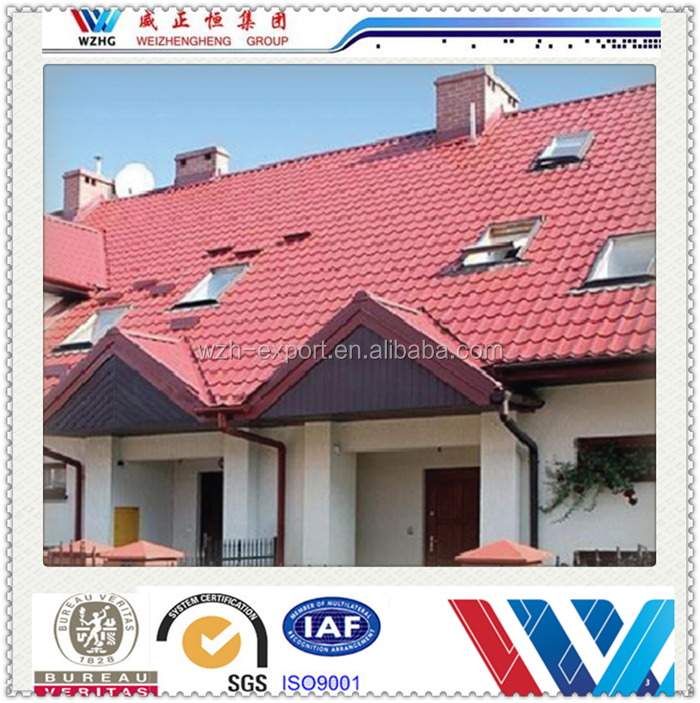 2015 New Products Stone Coated Steel Roofing Tile/Building Material Prices in Nigeria from Chinese exporter
