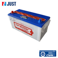 n100 12v 100ah dry charged auto car battery with factory wholesale