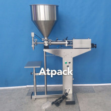 Atpack high-accuracy semi-automatic skin care cream - GT Anti-Aging Multiple cream filling machine with CE GMP