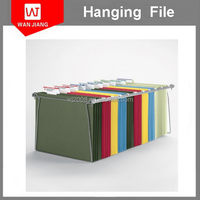 High quality a3 a4 a5 size pp paper pvc hanging file folder made in China a4 suspension file