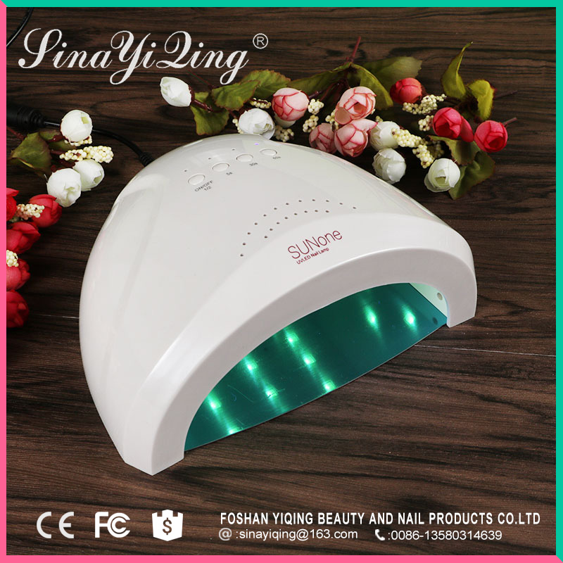 China SinaYiQing factory high standard led nail gel dryer lamp for personal use