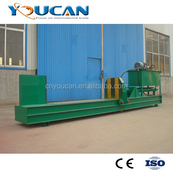 Industrial Using wood log cutter and splitter