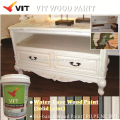 S-802 Single component water-based solid color wood primer for furniture, wood paint for outdoor furniture