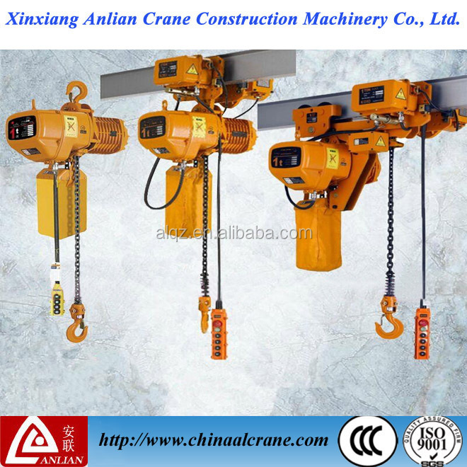 HHBB good price electric lifting mini crane electric chain hoist