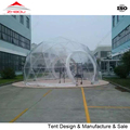 small camping clear tent special designed transparent dome tents for party