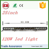 Fectory sell 7500LM 21.5inch 120W led light bar