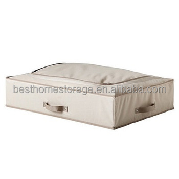 2017 High Grade Under the Bed Quilt Duvet Blanket Storage Box Bag With Quality Fabric&Zipper