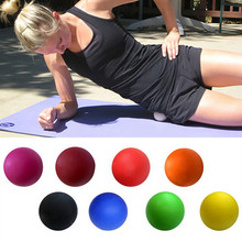 Silicone soft roller double ball fascia relax massage ball