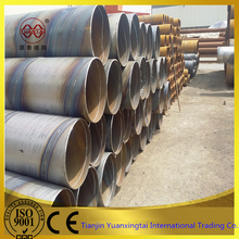 High Quality Carbon Steel Spiral welded steel pipe hydropower penstock steel tube 4
