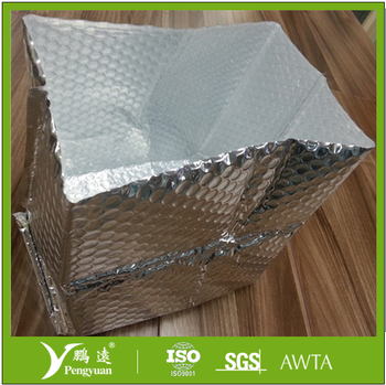 Thermal Insulated box liner to delivery cold fruits and shipping grocery and keep low temperature with all size customized