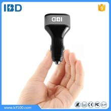ibd high quality 5v 2.1a 2.4a 4 usb car charger charging for ipads same time in full speed
