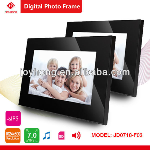Full function 7 Inch mini bulk digital photo frame