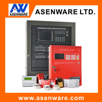 High Quality 2 Wired Addressable Fire Alarms System for Hotel,building, office