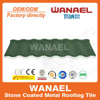 green color decorative made in china classical roofing tiles