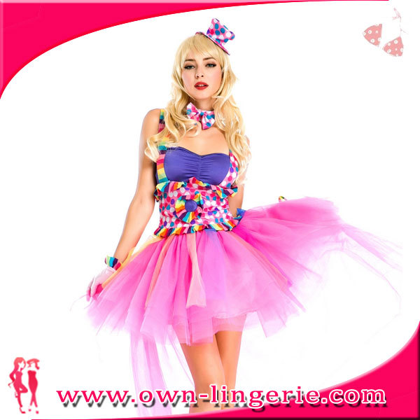 Factory Price sexy candy girl costume
