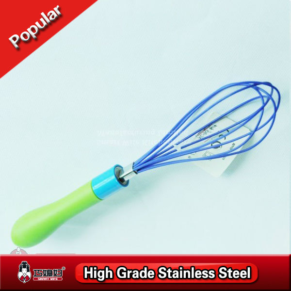 Made in China good grade wire whisk flat egg beater