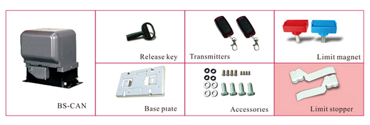 BS CAN Magnet Switch Automatic Sliding Gate Opener