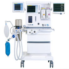 S6100plus ventilator with oxygen regulator dental clinical multi mode mobile anesthesia machine