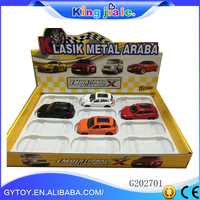 Quality 1:43 alloy diecast model car with model trucks and trailers