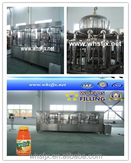 Drinking Water, Wine, Carbonated Beverage Filling Machine