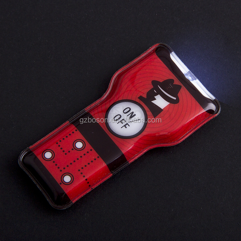 Custom PVC Led Light Keychain for Wholesale (manufacture)