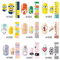 personal exquisite 2d nail sticker nail art sticker